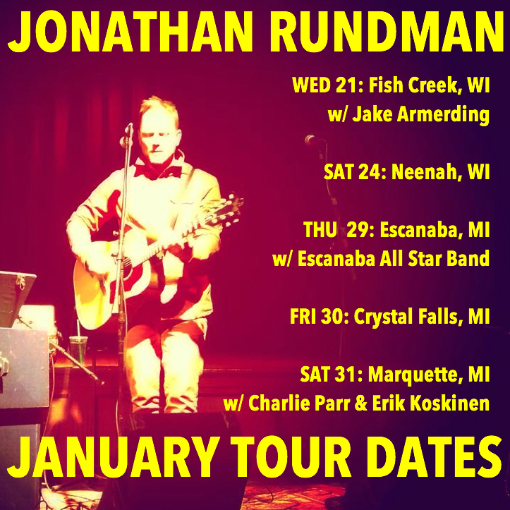 Later this month I'll be performing a series of concerts across the North woods...check my   DATES   page for complete details.