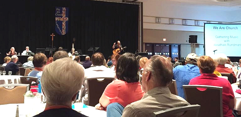 Here I am leading songs at the Northwest Lower Michigan Synod of the ELCA assembly. I'd love to play for your upcoming event / conference / assembly!  Email me  with ideas for dates, events, etc. EVENTS in 2018 include:  + MAY 2018: Minneapolis Area Synod Assembly  + JUNE 2018: Nebraska Synod Assembly  + JUNE 2018: ELCA Youth Gathering, Houston, TX