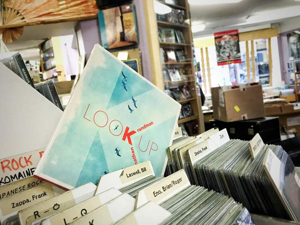 The LOOK UP album went on sale at Digelius Music in Helsinki on February 19th!