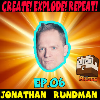 I'm on the CREATE! EXPLODE! REPEAT! podcast: - Big thanks to MR. GEE for a very thoughtful and well informed interview. Check out our podcast discussion HERE or eventually when the episode posts on iTunes.