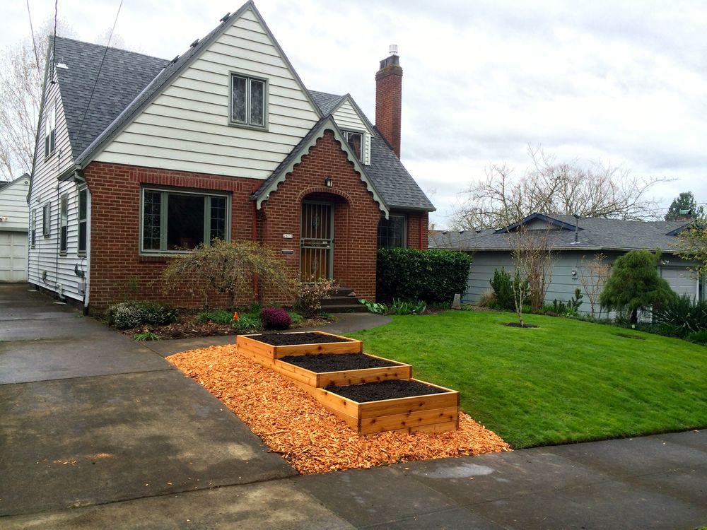 Raised garden beds portland edible gardens raised garden beds