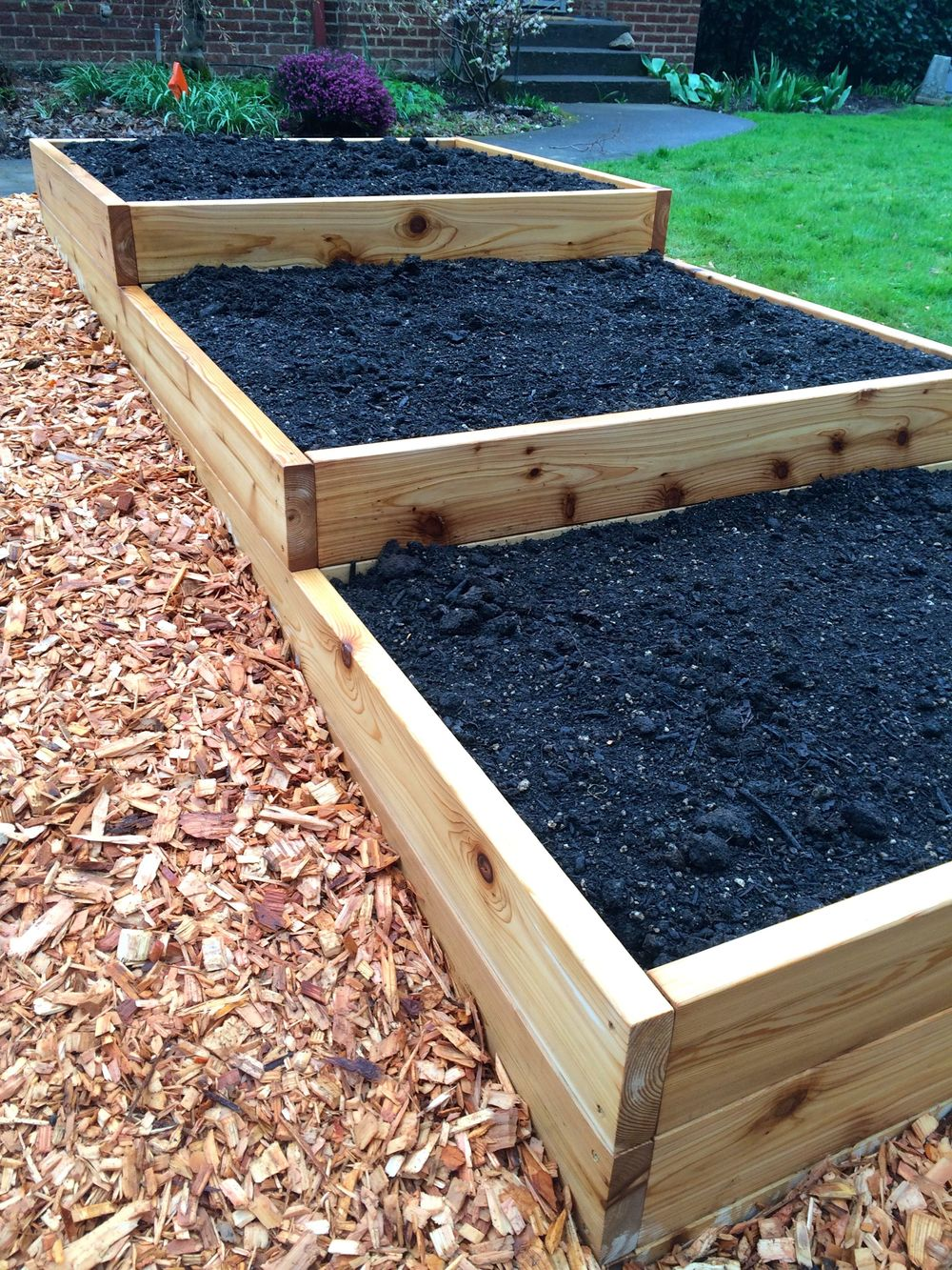Terraced Raised Bed
