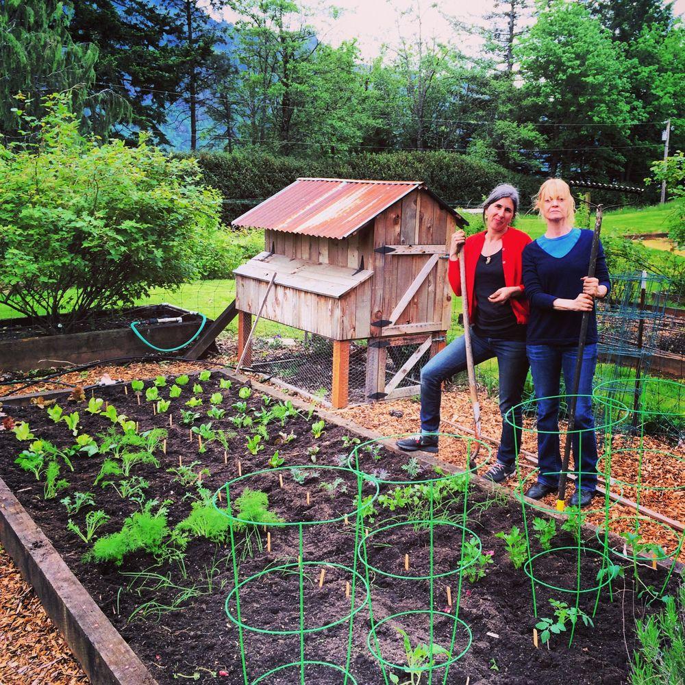Two accomplished gardeners
