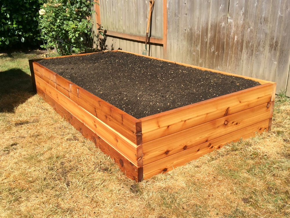 "18"" Raised Garden Bed #1"