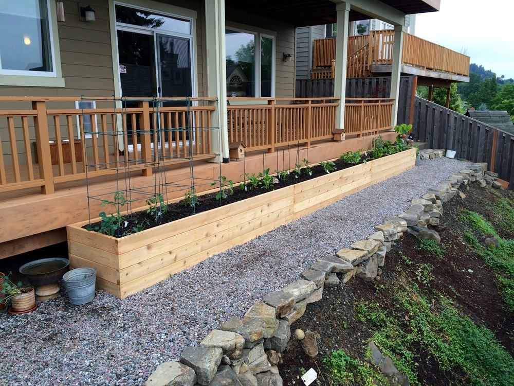 30 Foot Long Garden Bed!!!