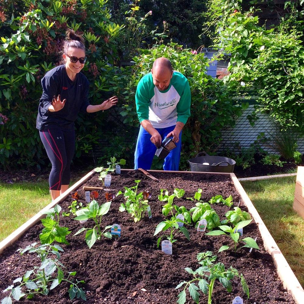 Garden mentorship clients
