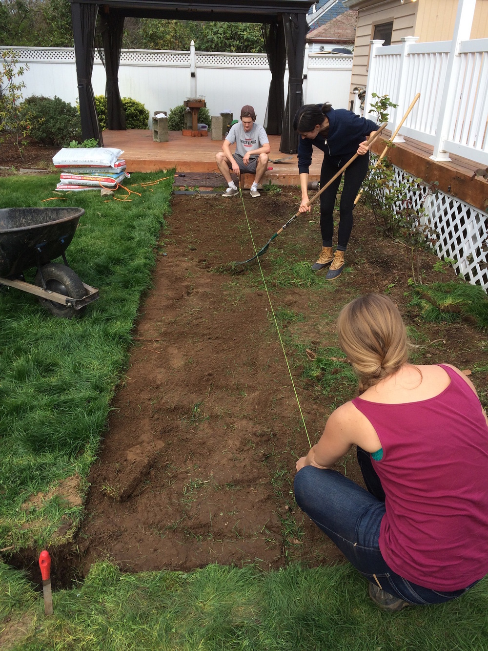 "For in-ground garden beds, 36"" width is ideal: Narrow enough to reach the center, wide enough to make efficient use of your space."
