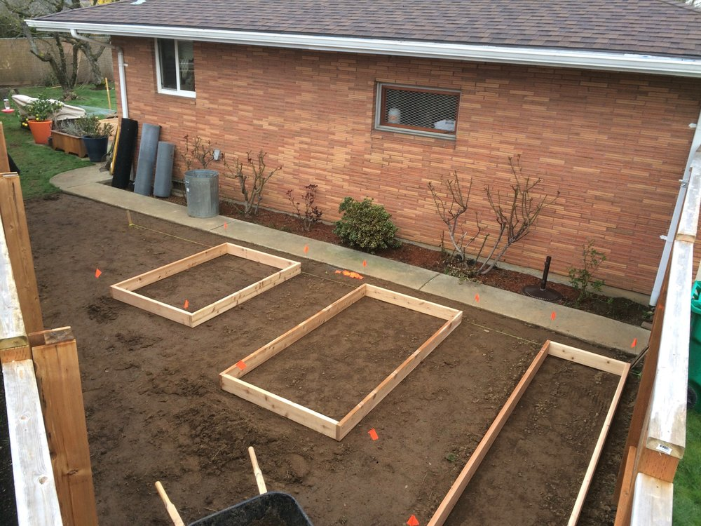 Corner Raised Beds