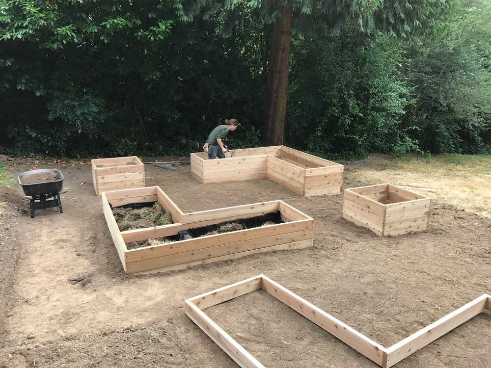 Fulmer Garden Build 2