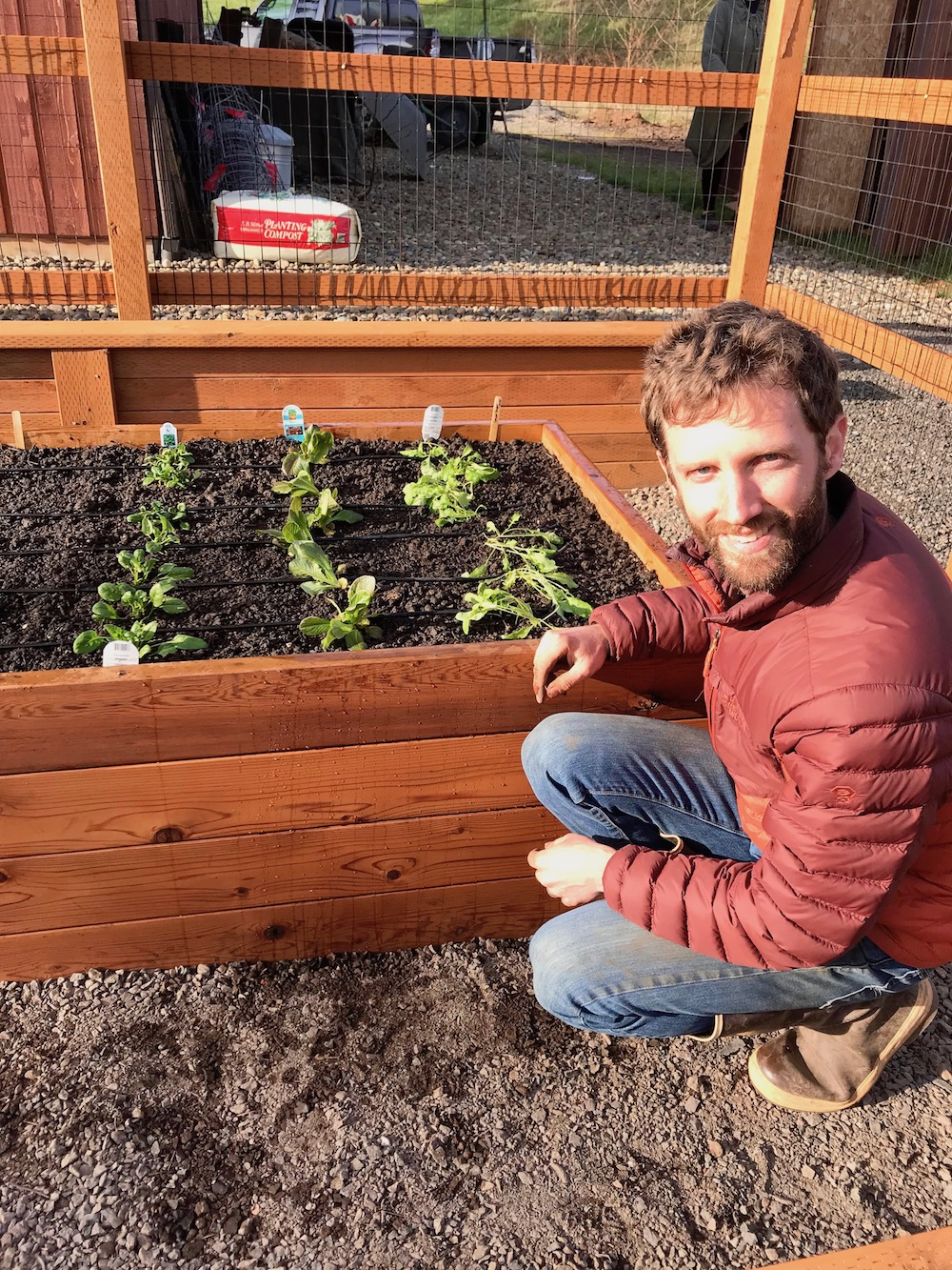 Ian Wilson, Owner, Portland Edible Gardens