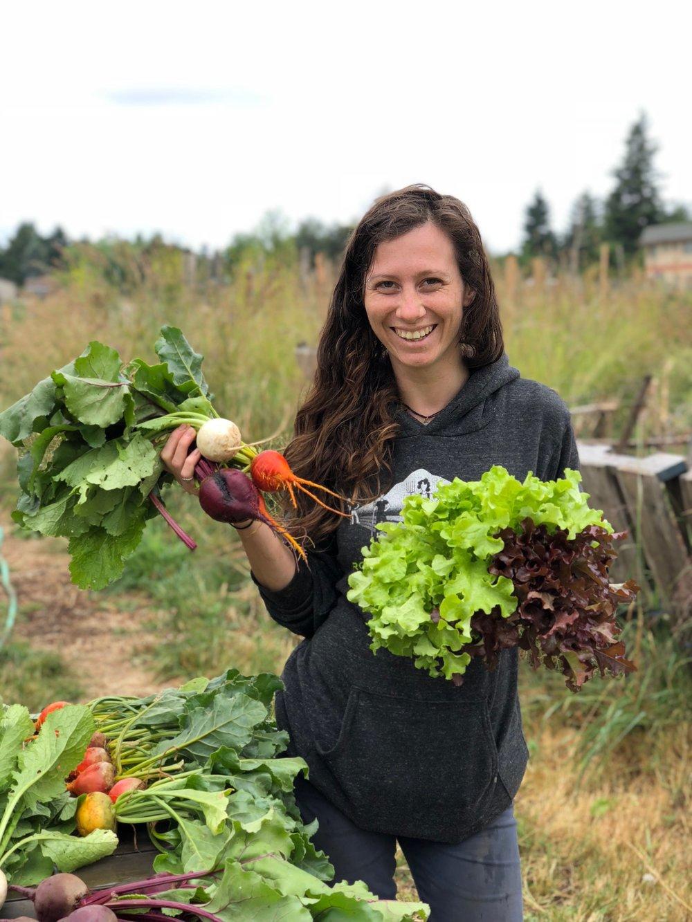 Jessie Weir, Home Garden Mentor