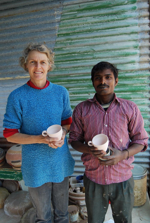 Sandra Bowkett and Banay Singh