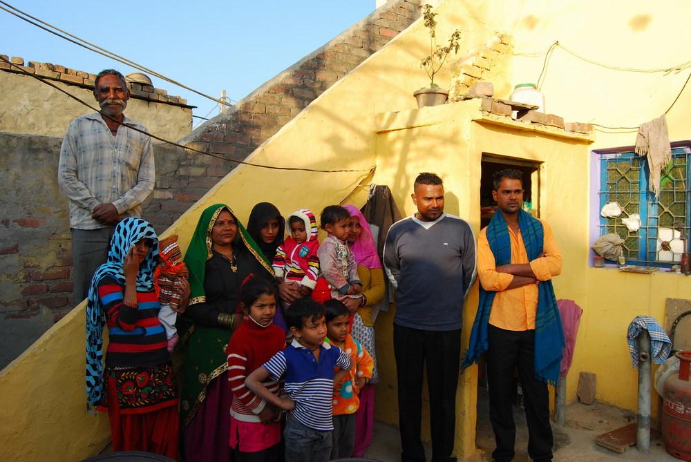Manohar Lal, Karlo Devi and Family Kumhaargram