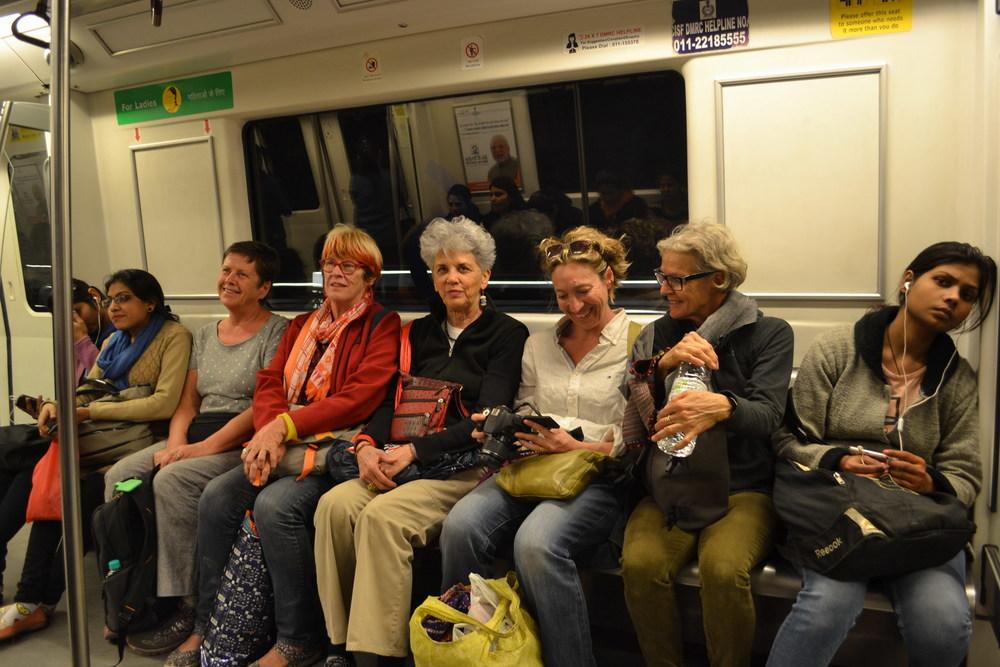 Delhi Metro Photo Evie Core