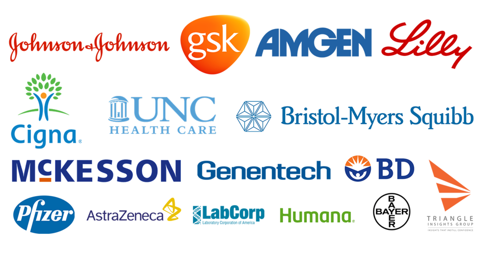 These and other healthcare companies have hired Kenan-Flagler students in the past three years.
