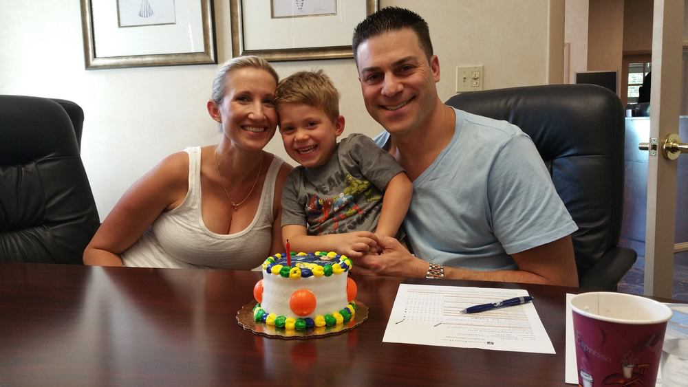 The Cassell Family Celebrates the purchase of their brand-new home!