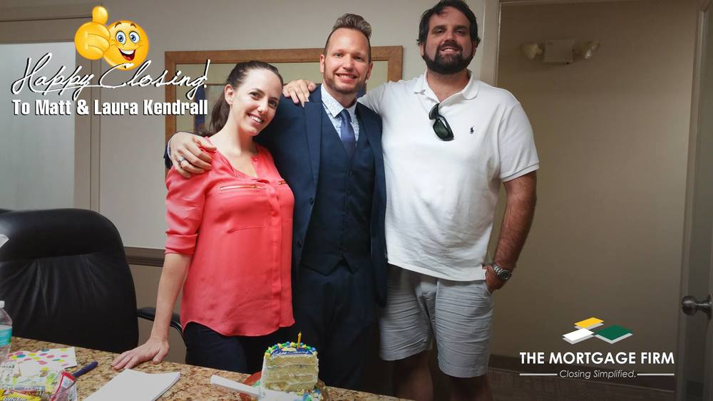 Congratulations to the Kendrall family on buying their first brand new home in South Florida!
