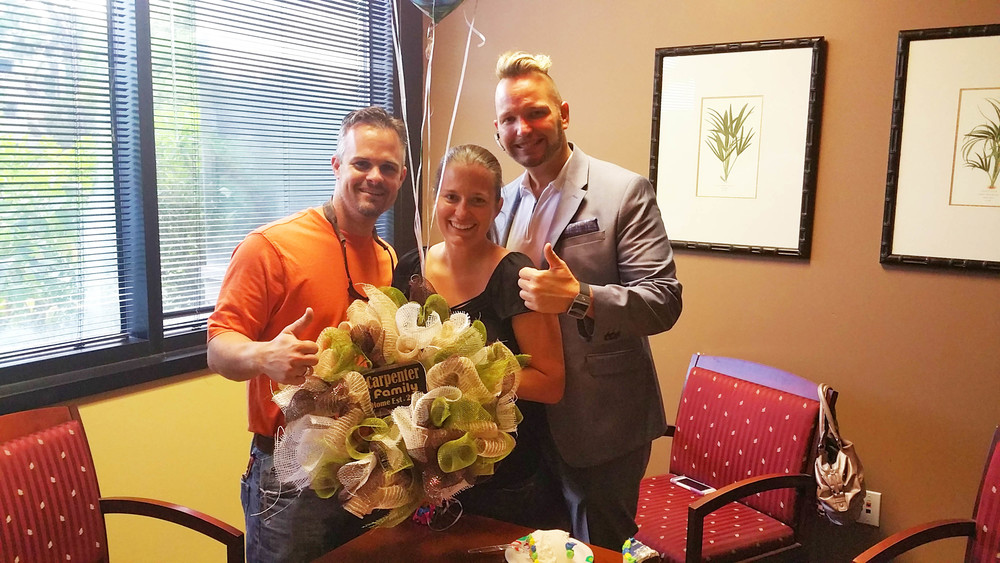 Laurie and Spike Carpenter finally found the perfect home. Buying bank-owned properties is rarely easy these days, but they did it. Congrats!