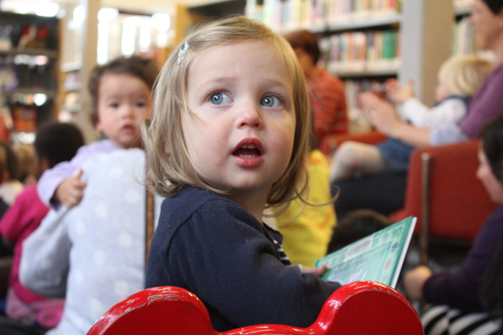 storytime, west footscray library - Mamma Knows West