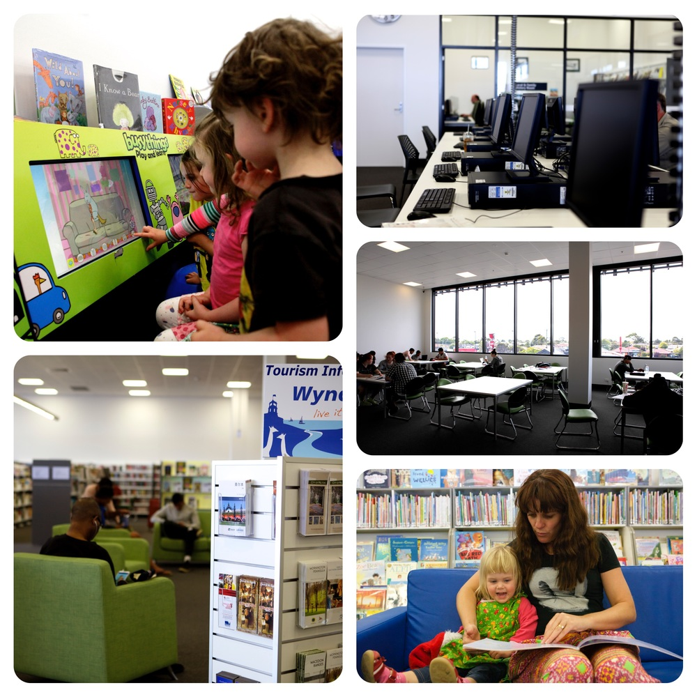 werribee plaza library - mamma knows west