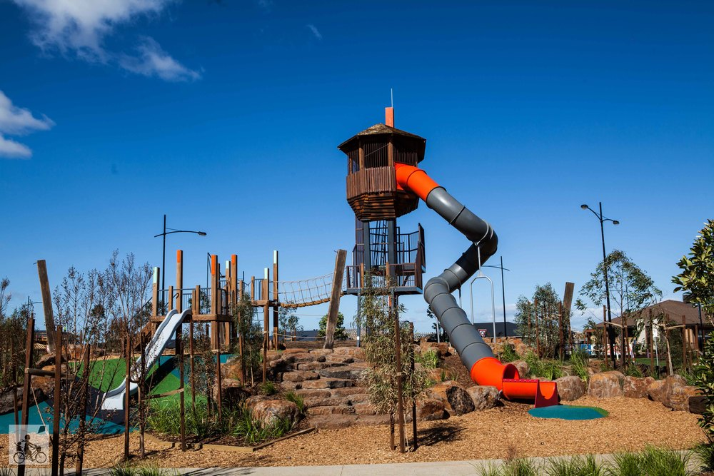 woodlea estate adventure playground, rockbank parks ...