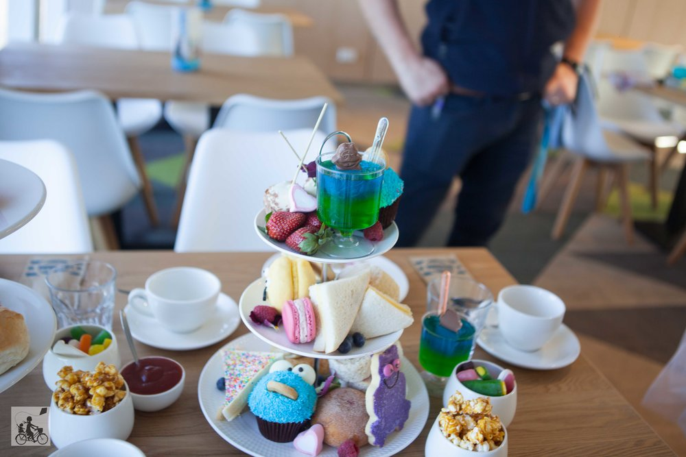 mamma knows west - kids high tea onboard searoads ferry, queenscliff