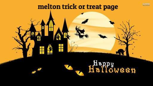 Melton Community trick or treat houses