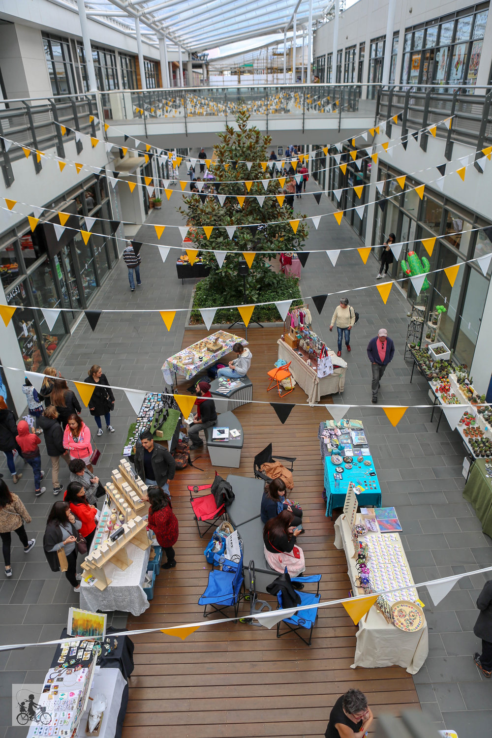 D Exhibition Docklands : Best outside of the west mamma knows west the district makers market
