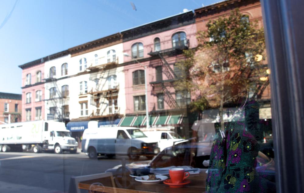 Chermelle, Cafe Grumpy, Park Slope.