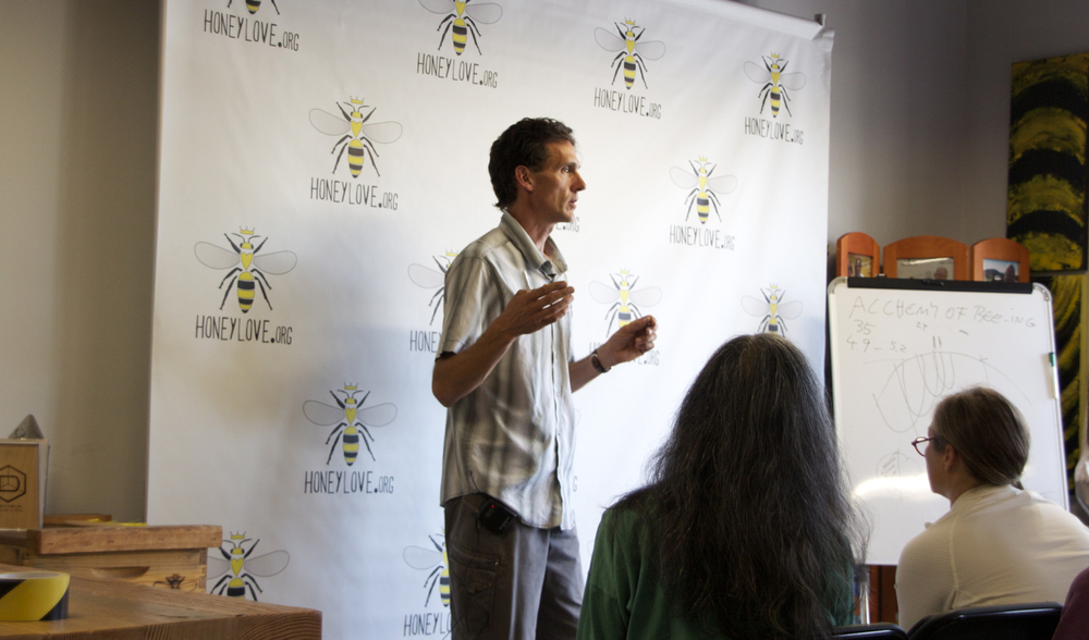 Michael Thiele, Biodynamic Apiculture at Honey Love.