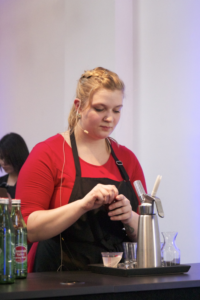 Stacy from  Cafe Javasti  of Seattle