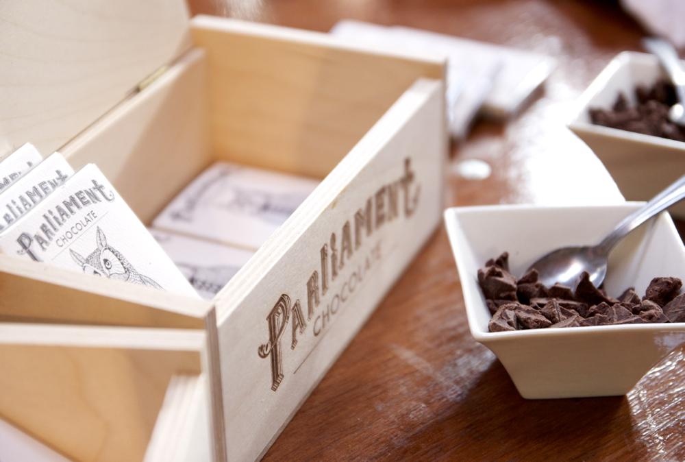 Parliament Chocolate of Redlands, Ca