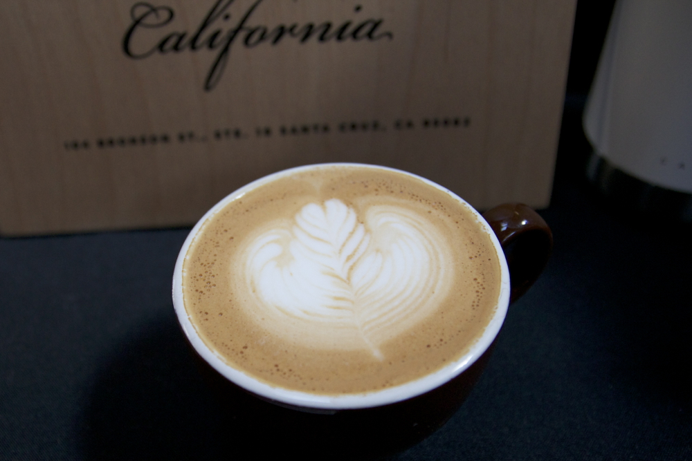 Cappuccino from  Verve Coffee Roasters  of Santa Cruz