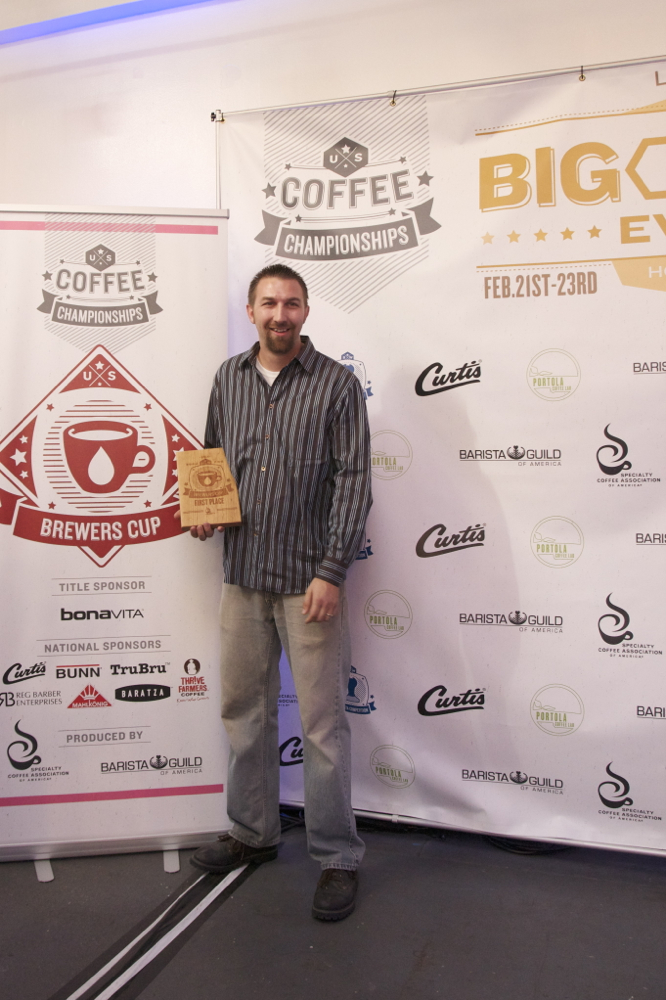 SW Regional Brewers Cup Champion