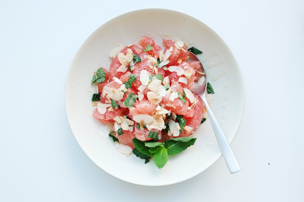 Refreshing Grapefruit Salad