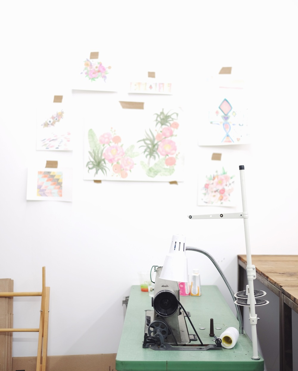 Samantha Santana's Workspace