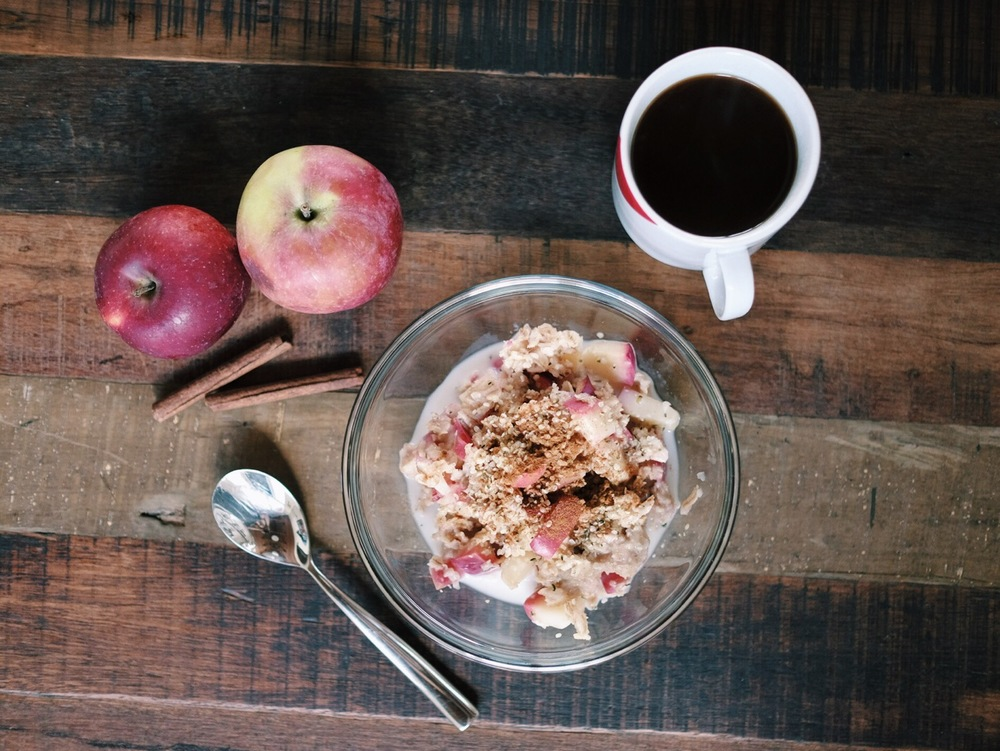 Apple Pie Oats