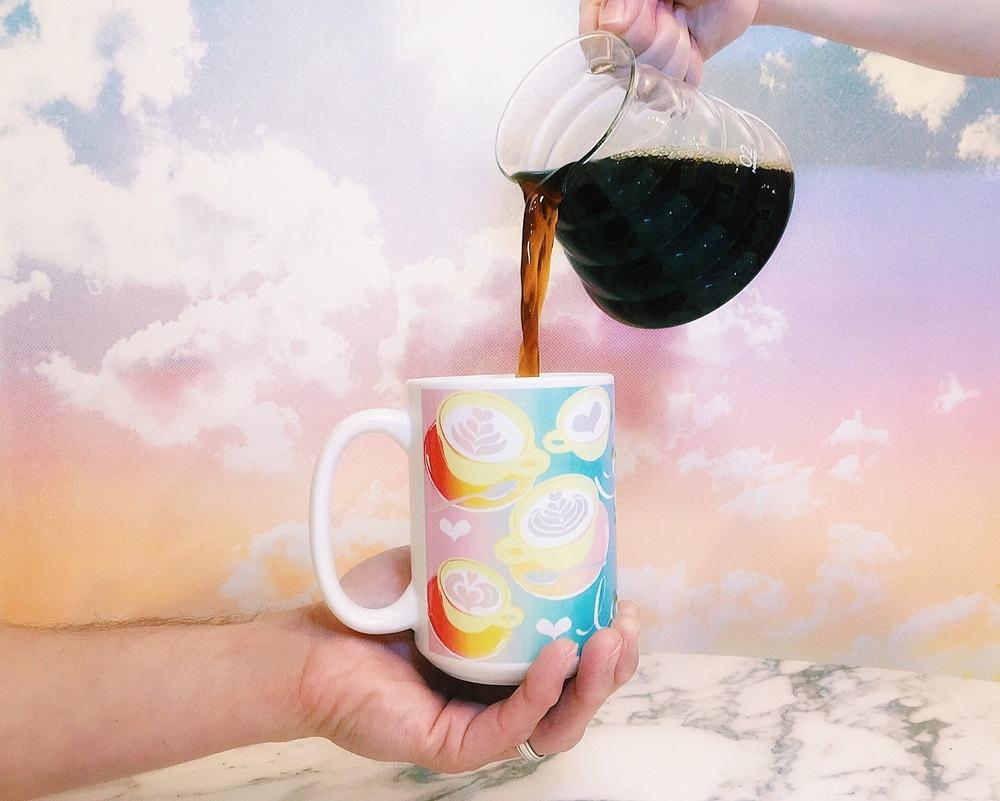 Photo & Mug Design by Chloe Beckerman Hardt of Dat Print Doe