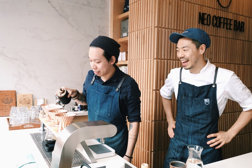 Bruce Ly & Masashi Nakagome of Neo Coffee Bar