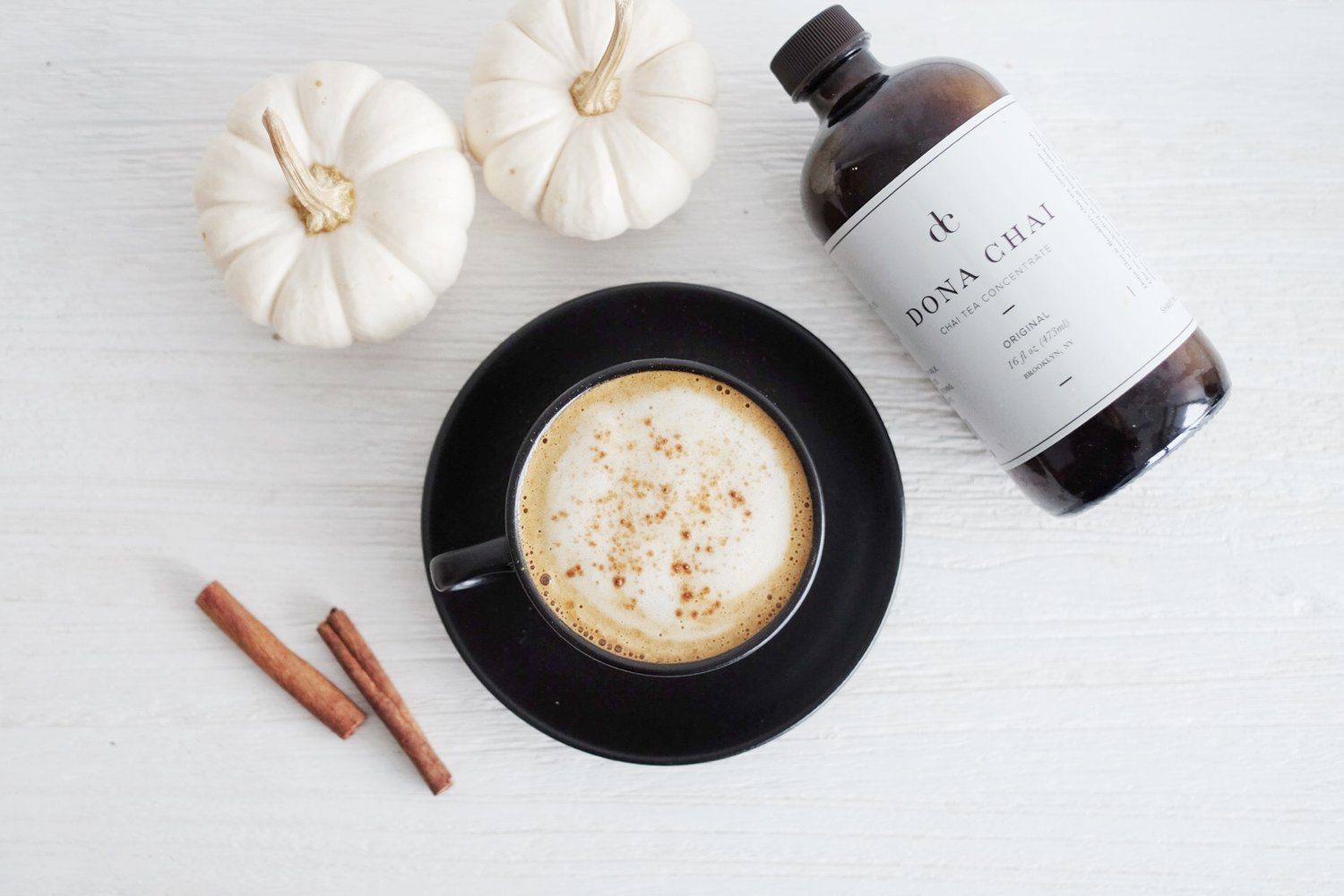 Pumpkin Spice Latte | Feat. Interview with Dona Chai\'s Founder, Amy ...