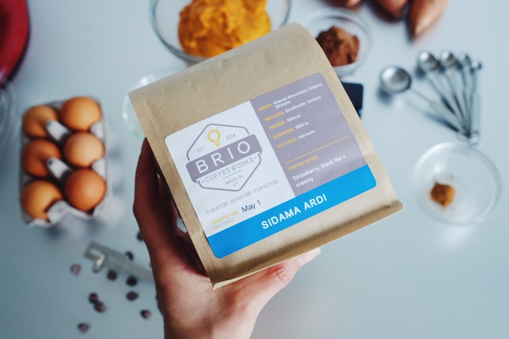 Ethiopia Sidama Ardi Roasted by  Brio Coffee  works