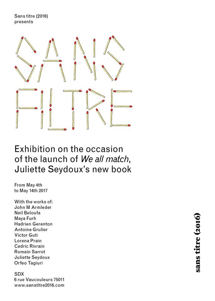 SANS FILTRE GROUP SHOW