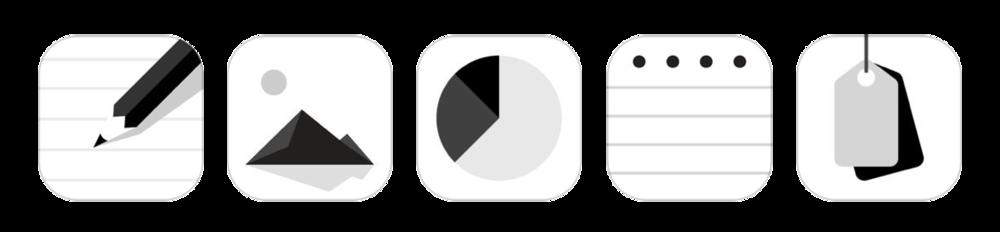Appar för iOS och Android