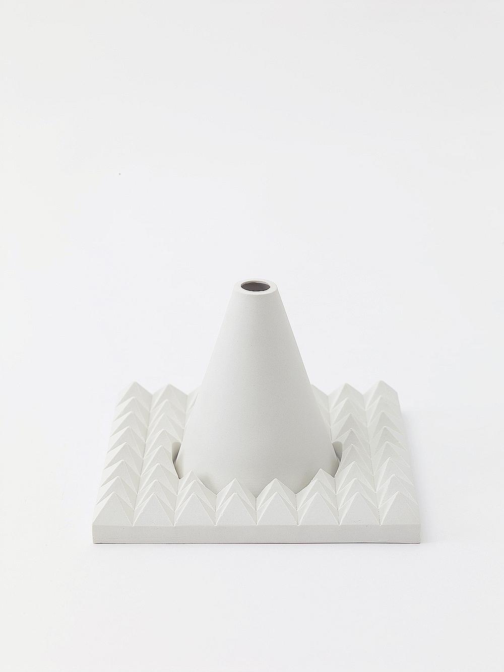 Platter + Cone   unglazed