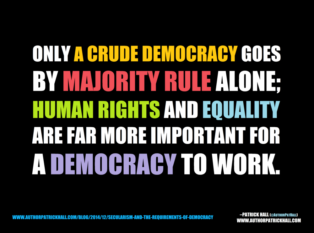 A CRUDE DEMOCRACY: This is a meme, created by Patrick Hall on December 1, 2014. Copyright © 2014 by Patrick Hall. All rights reserved. Feel free to spread it around.