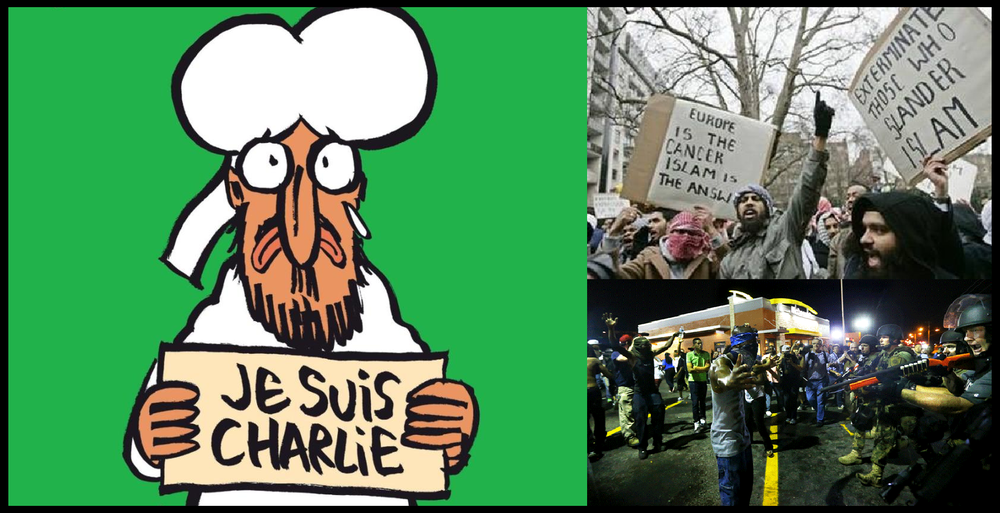 I am a liberal; I am for free speech; I am Charlie Hebdo.  Je suis Charlie!