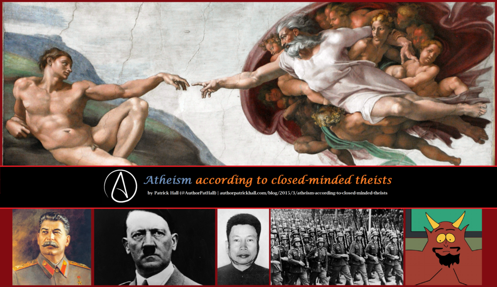 Atheism according to closed-minded theists.png