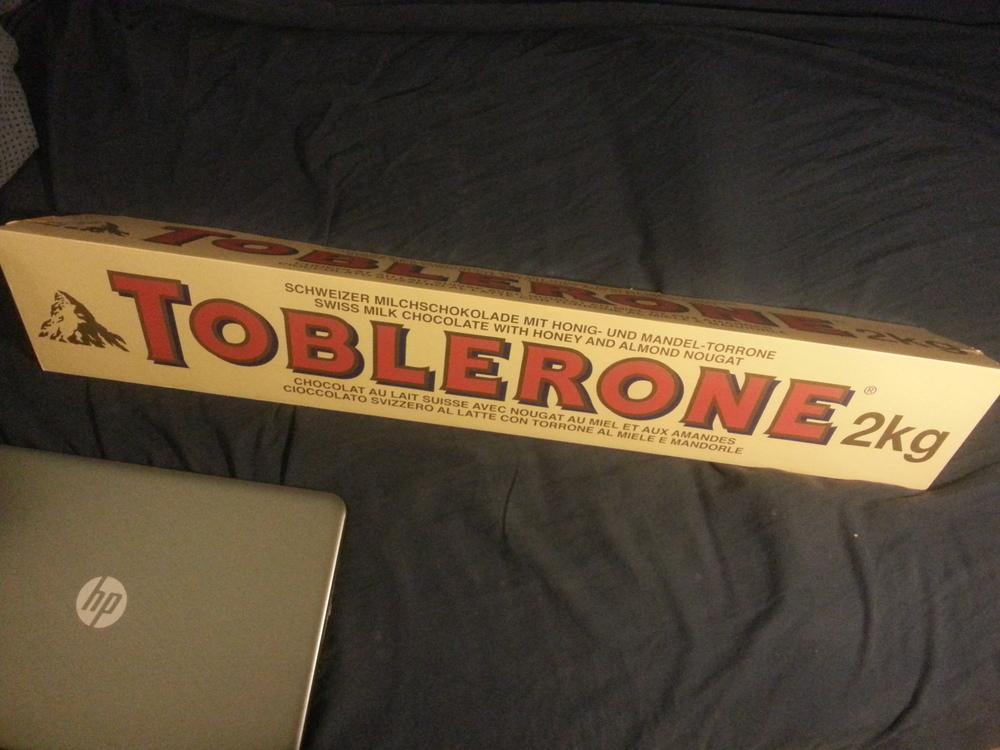 Toblerone unboxing 1