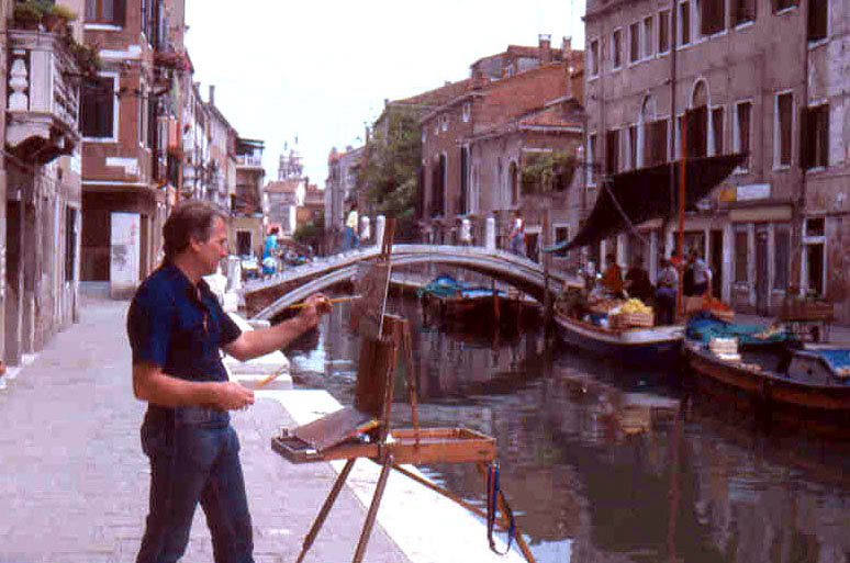 Joe Abbrescia on location in Venice