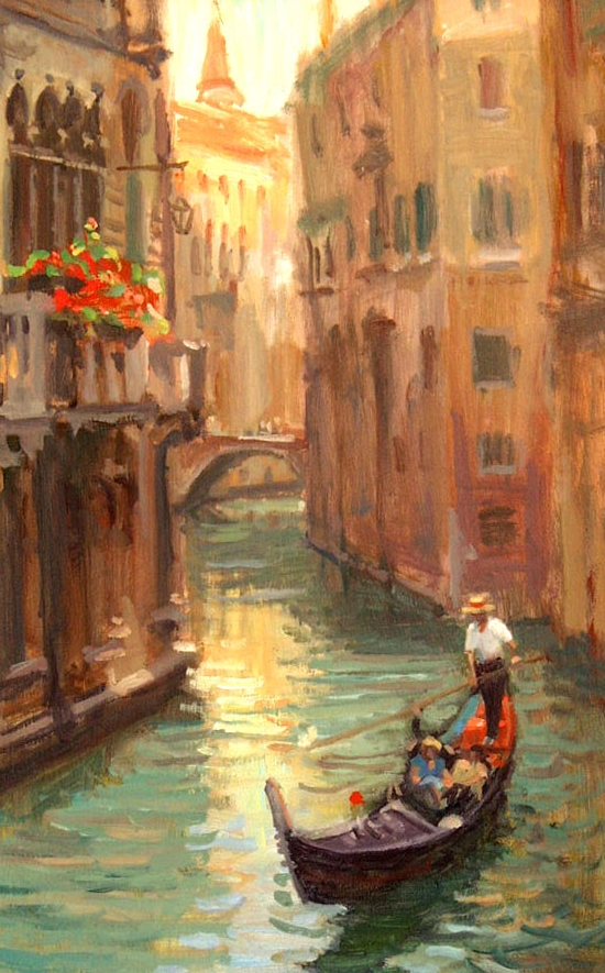 """Venice Canal"" by Joe Abbrescia"